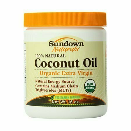 Sundown 100% Natural Organic Extra Virgin Coconut Oil - 16 Oz - usaotc.com