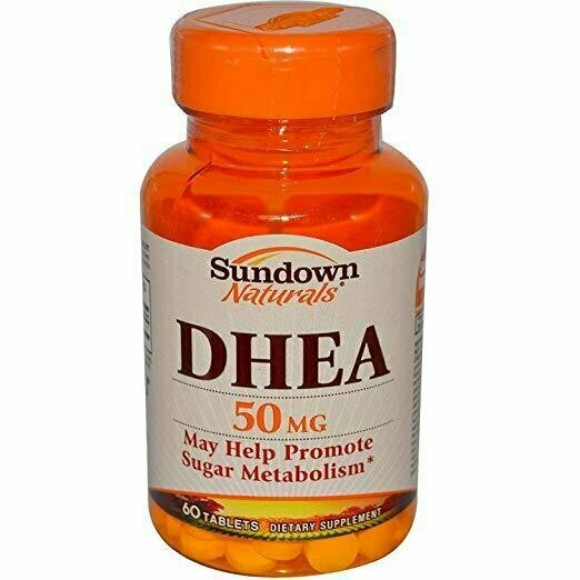 Sundown Dhea 50mg Tablets Size 60ct Sd Dhea 50mg Tablets 60ct - usaotc.com