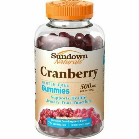 Sundown Naturals Cranberry 500 mg Gummies 75 each - usaotc.com
