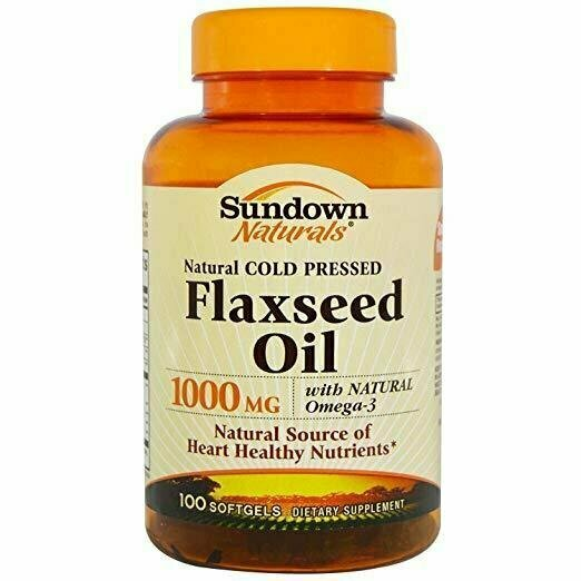 Sundown Naturals Flaxseed Oil 1000 Mg, 100 Count - usaotc.com