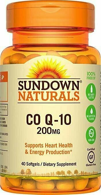Sundown NaturalsÔøΩÔøΩ Co Q-10 200 mg, 40 Softgels - usaotc.com