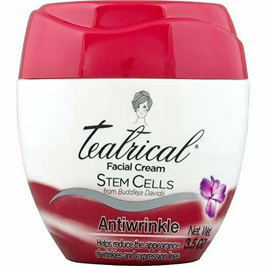TEATRICAL Anti-wrinkle Cream, Floral, 3.5 Ounce - usaotc.com