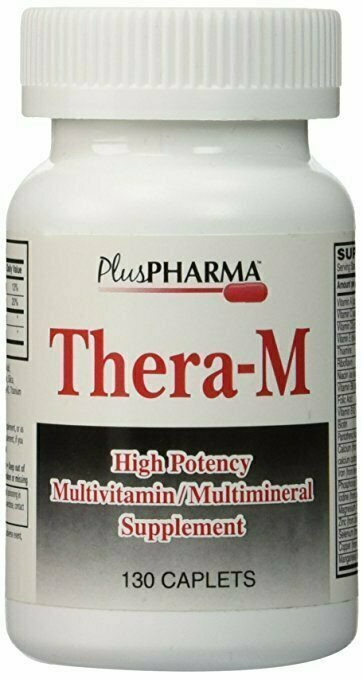 Thera-M Multivitamin Multimineral Supplement - 130 Caplets - usaotc.com