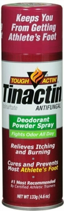 TINACTIN DEODORANT SPRAY POWDER VALUE SIZE 4.6OZ - usaotc.com