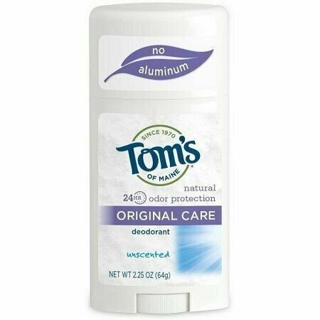 Tom's of Maine Natural Deodorant Stick, Unscented 2.25 oz - usaotc.com