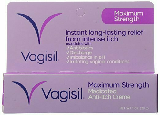 Vagisil Maximum Strength Anti-Itch CrÔøΩÔøΩme - 1 oz - usaotc.com
