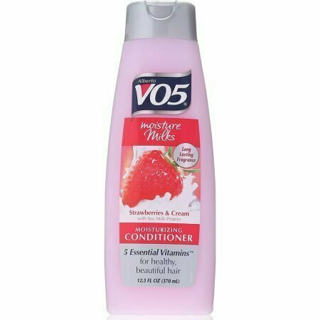 VO5 Moisture Milks Moisturizing Conditioner, Strawberries & Cream 12.5 oz - usaotc.com