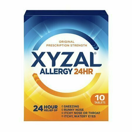 Xyzal Allergy 24 Hour Relief Of Tablets, 10 Each - usaotc.com