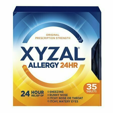 Xyzal Allergy 24 Hour Relief Of Tablets, 35 Each - usaotc.com