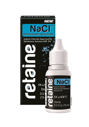 Retaine Nacl Ophthalmic Solution 0.5 fl oz - usaotc.com