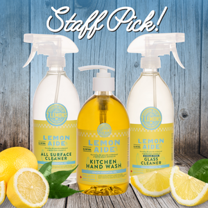 Staff Pick! - Lemon Aide Natural Cleaning Products