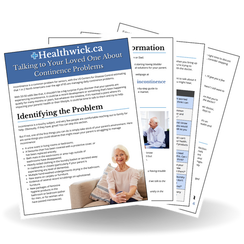 Talking to Your Loved One About Incontinence - Healthwick Canada