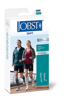 Jobst SPORT, Knee High Closed Toe 15-20 mmHg