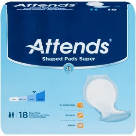 Attends Super Shaped Pads