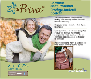 Priva Waterproof Velour Seat Protector
