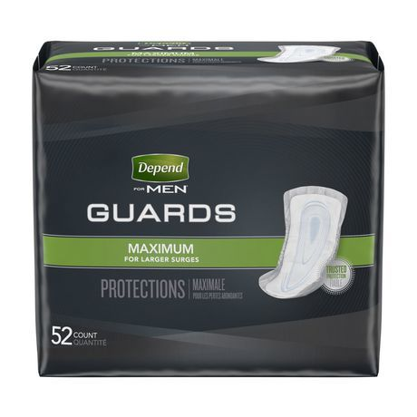 Depend for Men Guards - Maximum Absorbency