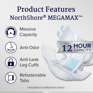 NorthShore MEGAMAX Adult Diapers