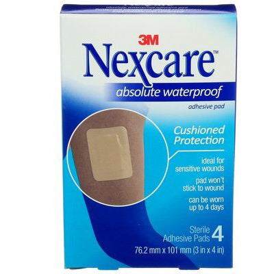 Nexcare™ Absolute Waterproof Adhesive Pad, One Size