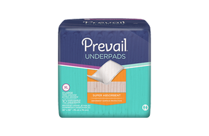 Prevail Super Absorbent Underpad - Clear Bag