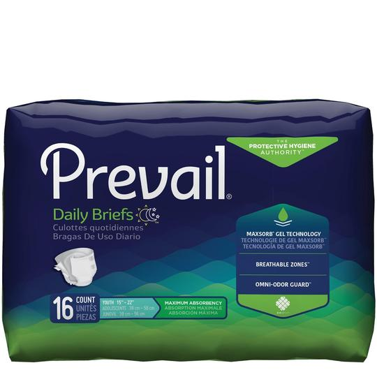 Prevail Youth Briefs Maximum Absorbency Briefs