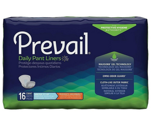 Prevail First Quality Pant Liners Overnight Pads