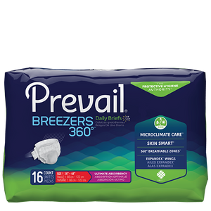 Prevail Breezers 360° Ultimate Absorbency Briefs