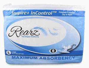 Inspire+ Incontrol Super Absorbent Adult Diapers