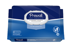 Prevail Fragrance Free Adult Washcloths