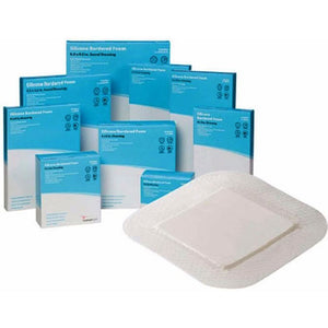 Cardinal Health™ Silicone Bordered Sacral Design Foam Dressing