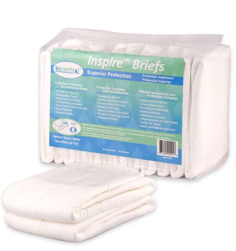 InControl Inspire Super Absorbent Adult Diapers