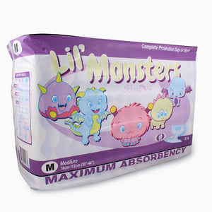 Rearz Lil' Monsters Adult Diapers