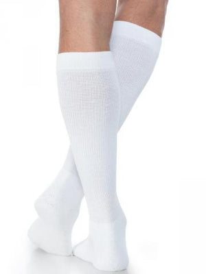 Sigvaris Unisex Eversoft Diabetic Sock, Calf 8-15mmHg