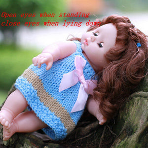 30CM Baby Dolls Toys For Girls Sleeping Accompany Doll Beautiful Lower Price Newborn Birthday Christmas Present