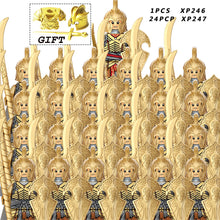 Load image into Gallery viewer, Medieval Knights Group military  set  dwarf  elves  Strong orc toys  building block  educational toys for children