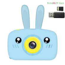 Load image into Gallery viewer, Children's Camera Toy Baby Cute Camera Rechargeable Digital Camera Mini Screen Baby Kids Educational Toys Outdoor Games Toys