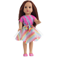 Load image into Gallery viewer, JULY'S SONG 45CM Baby Dolls Full Silicone Toys For Girls Cute Sleeping Accompany Doll Beautiful Birthday Present For Kids