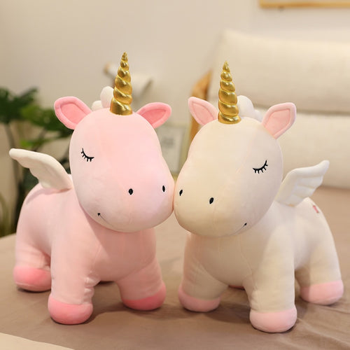 Unicorn Plush Toy Dolls  Stuffed Baby Toys Pink Unicorn Toys For Girls Cartoon Animal Horse Toy For Children Birthday Gifts