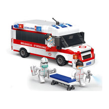 Load image into Gallery viewer, Enlighten 1118 City Ambulance Car Figure Blocks Educational Construction Building Bricks Toys for Children Compatible
