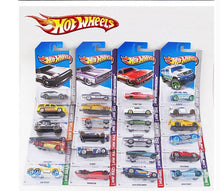 Load image into Gallery viewer, 5pcs-72pcs Original  Diecast Hot Wheels Model Cars 1:43  Diecasts & Toy Vehicles Cars Hotwheels Toys for Children Boys Kids Gift