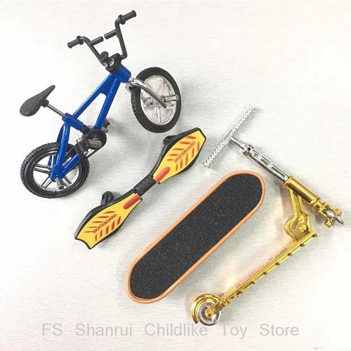 Hot Sale Mini Scooter Two Wheel Scooter Children's Educational toys metal mini finger bikebicycle model toys for boys