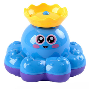 Octopus Animal Children Bathroom Water Spray Bath Toys Baby Funny Electric Bathing Toys For Infant Shower Swimming Water Play