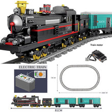 Load image into Gallery viewer, KAZI City Train Power Function Technic Building Block Bricks DIY Tech Toys for Children Compatible All Brands Christmas Gift