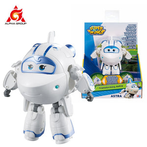 "Abs Super Wings Deformation Transforming 5"" Scale Airplane Robot Action Figures Super Wing Transformation Toys For Children Gift"