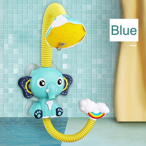 Bath Toys Baby Water Game Elephant Model Faucet Shower Electric Water Spray Toy For Kids Swimming Bathroom Baby Toys