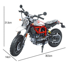 Load image into Gallery viewer, ERBO Technic Motorcycle car Model building blocks Speed Racing car City Vehicle MOC Motorbike bricks Kits toys for children boys