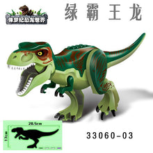 Load image into Gallery viewer, Lepines Heavy Claw Dragon Jurassic World Dinosaurs Figures Bricks Tyrannosaurus  Building Blocks Toy Dinosuar Toys for Children