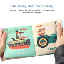 Load image into Gallery viewer, New Animal Cognition Infant Newborn Baby Soft Fabric Cloth Book Learning Educational Toys For Kids Baby Books 0-12 months