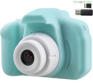 Children Kids Camera Mini Educational Toys For Children Baby Gifts Birthday Gift Digital Camera 1080P Projection Video Camera