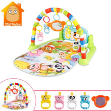Load image into Gallery viewer, Baby Gym Tapis Puzzles Mat Educational Rack Toys Baby Music Play Mat With Piano Keyboard Infant Fitness Carpet Gift For Kids