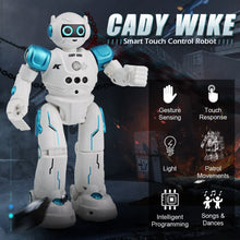 Load image into Gallery viewer, JJRC R11 RC Robot Toy Singing Dancing Talking Smart Robot For Kid Educational Toy For Children Humanoid Sense Inductive RC Robot